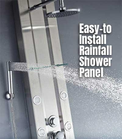 Rainfall Shower Panel Pros Cons