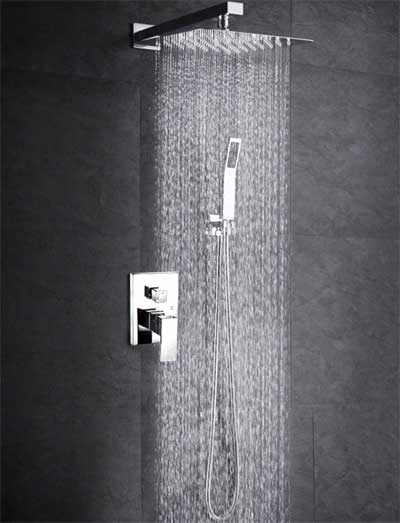 Wall Mounted Rain Shower System